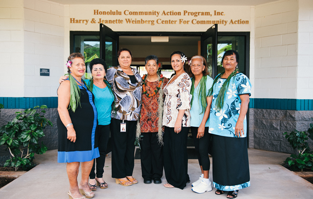 Leeward District Service Center staff