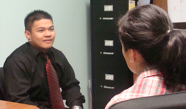 photo of HCAP Youth Services Mock Interviews