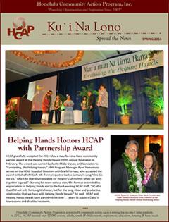 HCAP-Spring 2013 Newsletter