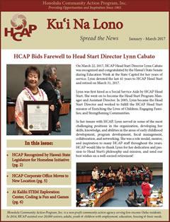 HCAP Spring 2017 Newsletter