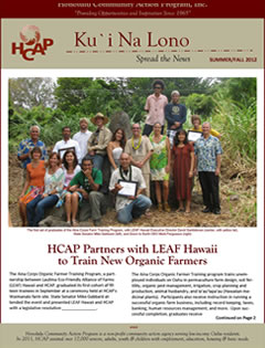 HCAP-Summer 2012 Newsletter