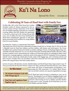 HCAP Summer 2015 Newsletter