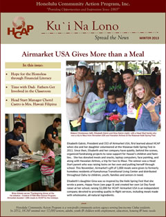HCAP-Winter 2013 Newsletter