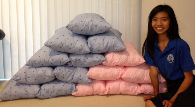 Photo of Pillows for Kumuhonua Residents