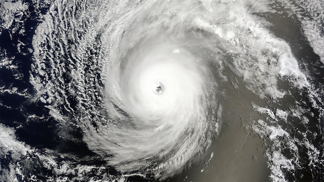 Photo of Hurricane Iselle Space