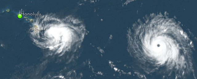 Photo of Hurricane Iselle