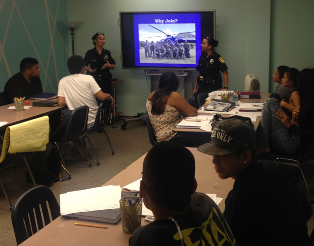 Photo of Youth Services with HPD