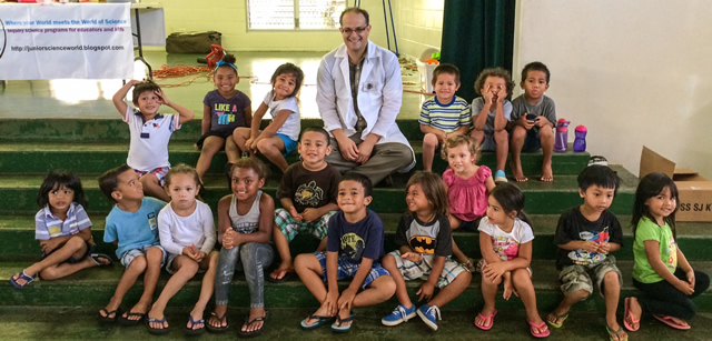 Photo of Science at Laie Head Start