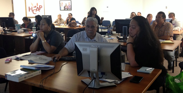 Photo of EITC Training