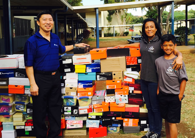 Photo of Shoeboxes for the Homeless