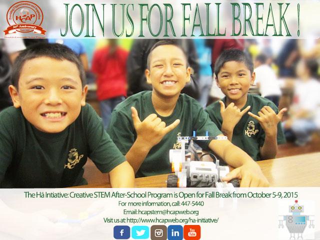 Photo of STEM Fall Break