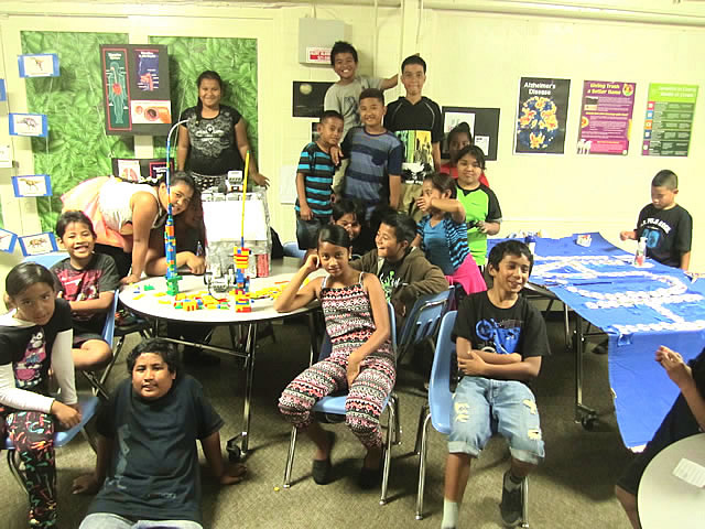 Photo of Family Night_STEM Kalihi
