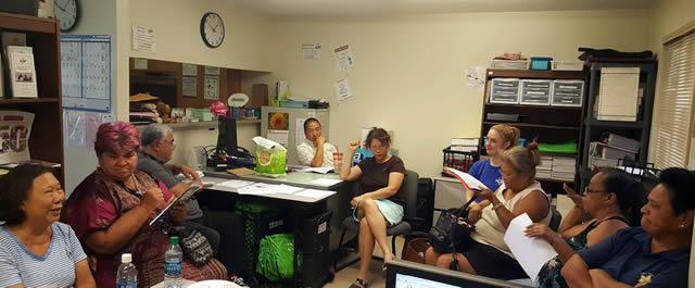 Photo of kalihi palama district council meeting