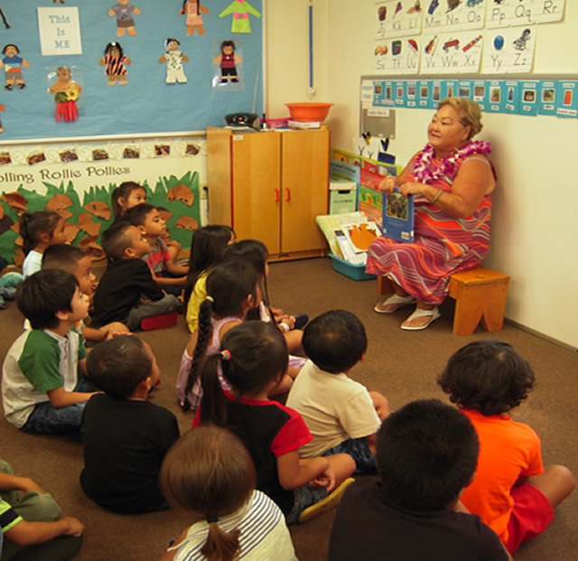 Photo of Head Start Read Aloud
