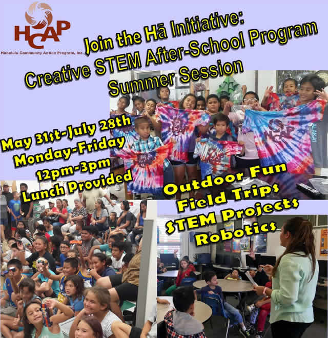 Stem School Program: Honolulu Community Action Program