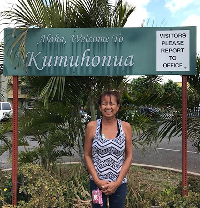 Photo of Karen Kumuhonua