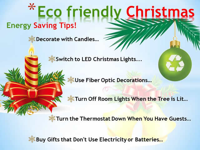 Photo of Energy Saving Tips Christmas