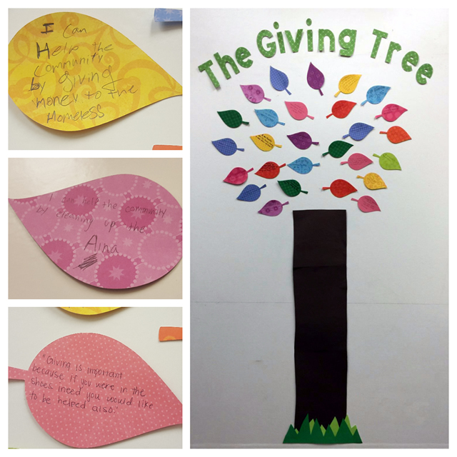 Photo of Giving Tree YS collage