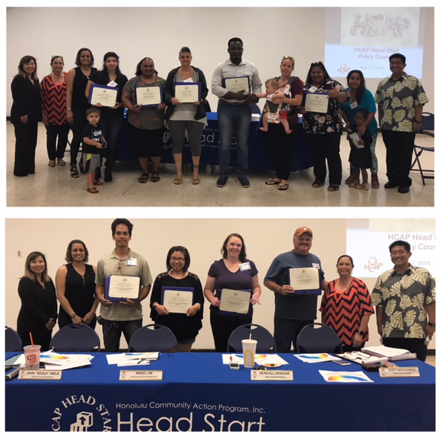 Photo of Head Start Policy Council Meeting