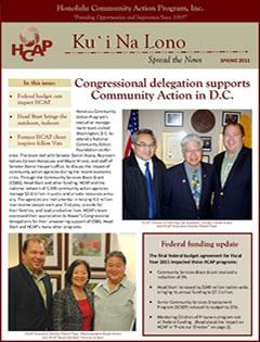HCAP-Spring 2011 Newsletter