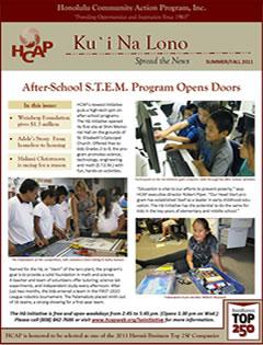 HCAP-Summer 2011 Newsletter