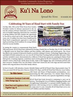 HCAP Summer 2015 Newsletter