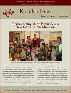 HCAP-Winter 2012 Newsletter