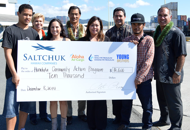 Photo of Saltchuk Hawaii Grant
