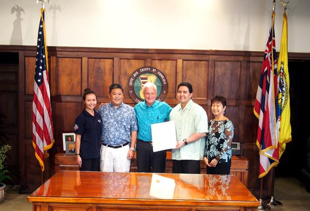 photo of final proclamation