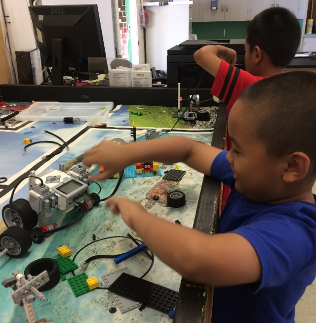 Photo of Kalihi STEM robotics