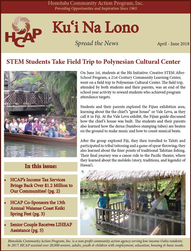 Photo of HCAP-April-June-2018-Quarterly-Newsletter_x640