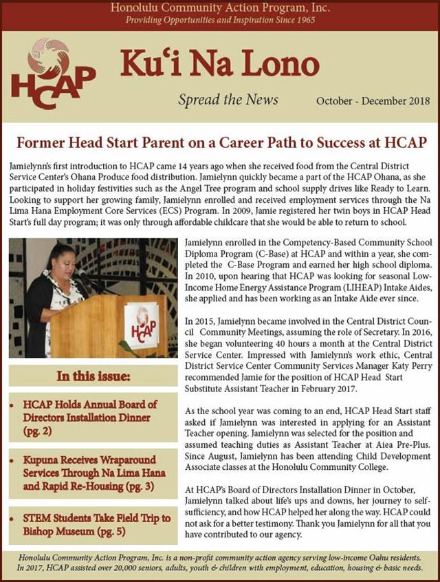 Photo of HCAP-October-December-2018-Newsletter_x640