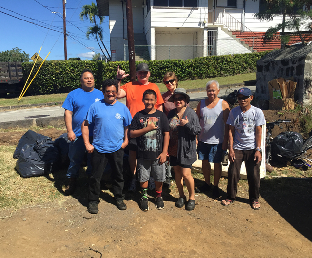 Photo of HS Dole Clean-Up