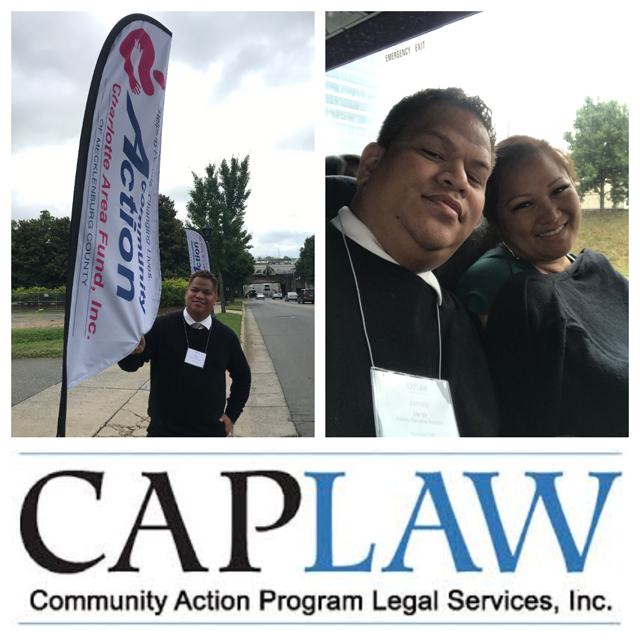 Photo of CAPLAW training collage
