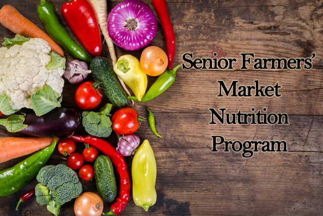 Photo of Senior Farmers Market Nutrition Program