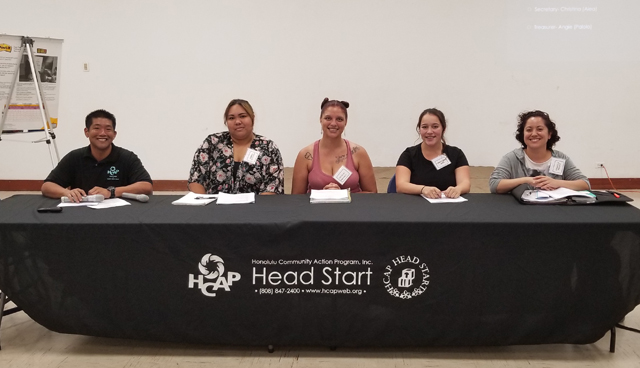 Photo of New Head Start PC Officers