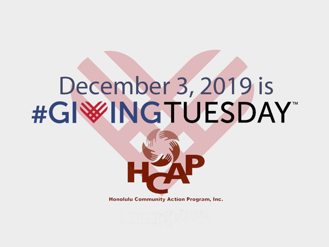 Photo of Giving Tuesday 2019