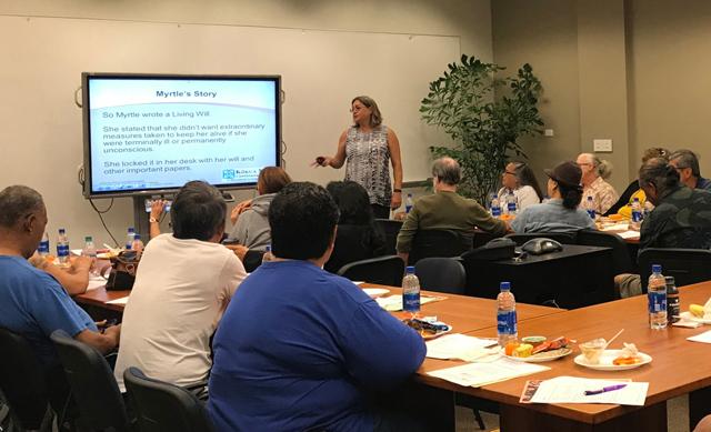 Photo of SCSEP workshop