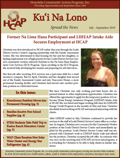 HCAP July-September 2019 Quarterly Newsletter