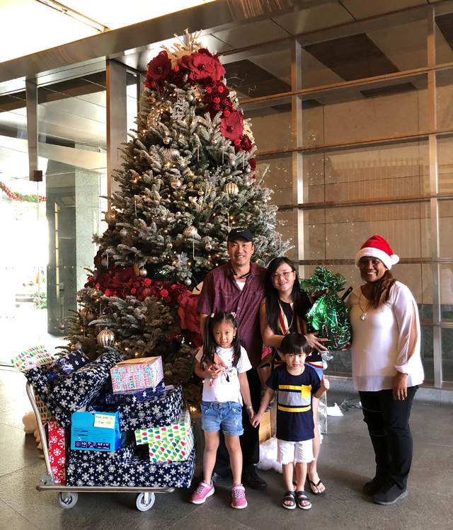 Photo of Head Start Parent Adopt A Family