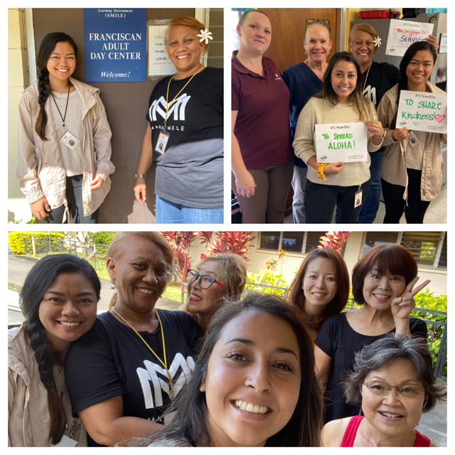 Photo of Leahi Franciscan Adult Day Center collage