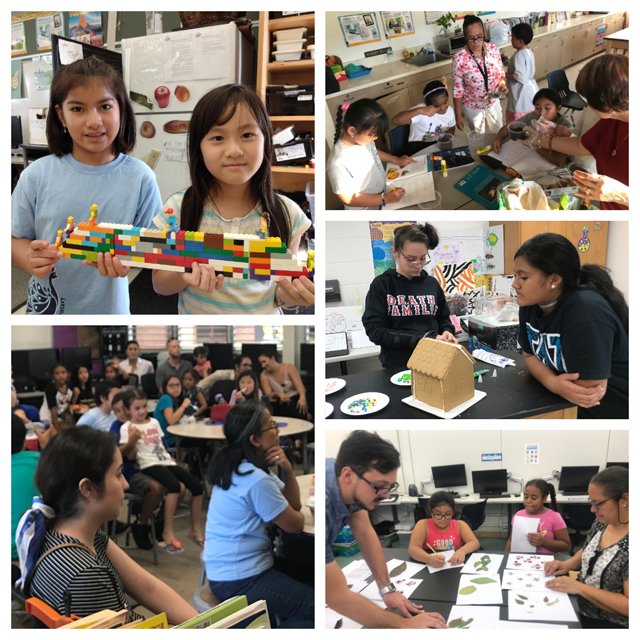 Photo of STEM Family Nights collage