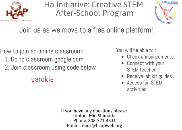 Photo of STEM Google Classrooms_x640